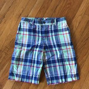 Polo by Ralph Lauren Madras Shorts Sz18